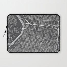 Center City Philadelphia Map Laptop Sleeve