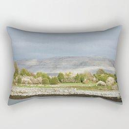 Limestone hills, Ballyvaughan, Burren,Clare, Ireland Rectangular Pillow