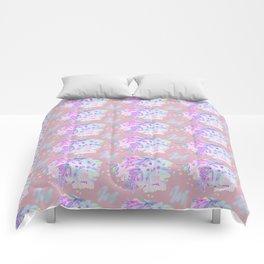 WATERCOLOUR PINK Comforters