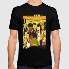 Pulp Fiction Mens Fitted Tee MEDIUM Black