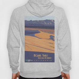 Vintage Poster - Mojave Trailers National Monument, California (2015) Hoody