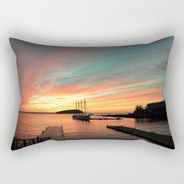 Autumn Sunrise Bar Harbor maine Rectangular Pillow