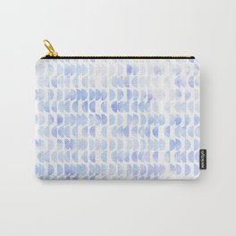 Hidden Treasures - Half Moon Whispers Carry-All Pouch