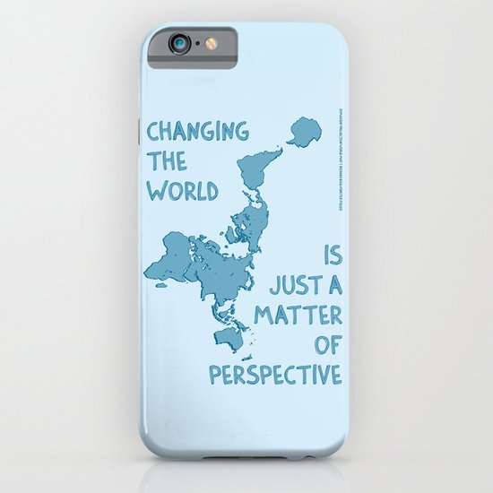 Dymaxion Perspective iPhone & iPod Case