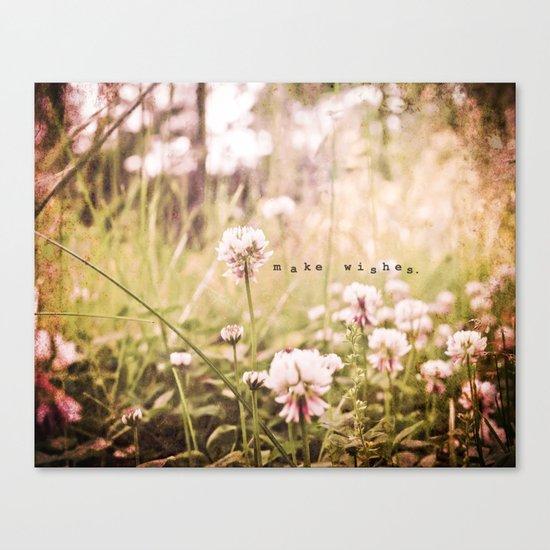 Make Wishes Canvas Print