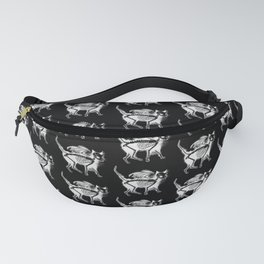 Devil Kitty - inverted Fanny Pack