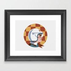 Headgear: Speed Racer Framed Art Print