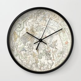 Star map of the Southern Starry Sky Wall Clock