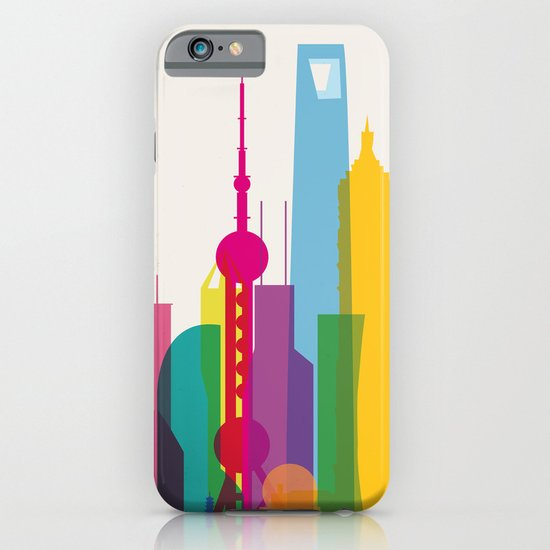 Shapes of Shanghai. Accurate to scale iPhone & iPod Case