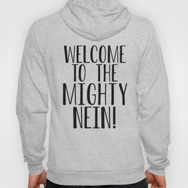 Welcome to the Mighty Nein Hoody
