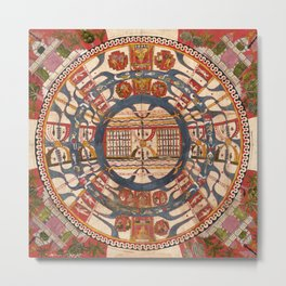 Sacred Circle Metal Print