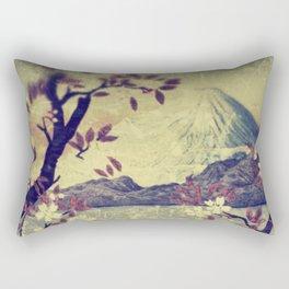 Templing at Hanuii Rectangular Pillow