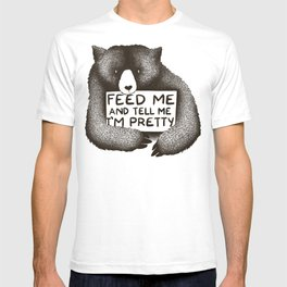 Feed Me And Tell Me I'm Pretty (Yellow) T-shirt