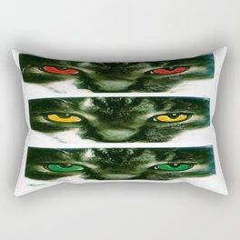 CAT CROSSING Rectangular Pillow