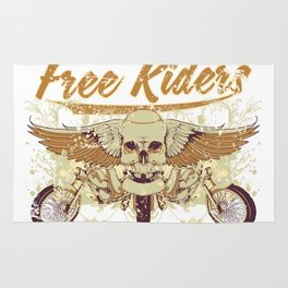 Free riders Rug