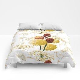 Wild bouquet Comforters