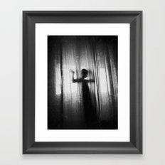 Ghost Framed Art Print