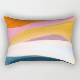 Let Go - no.36 Shapes and Layers Rectangular Pillow