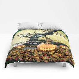 Pumpkin Gremlin Comforters