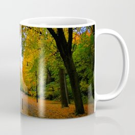 Fall road Coffee Mug