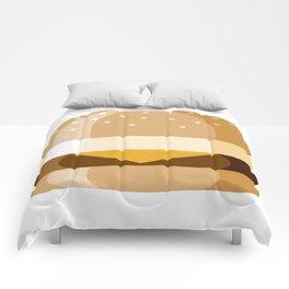 Breakfast Sandwich Comforters