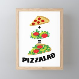 Pizzalad Framed Mini Art Print