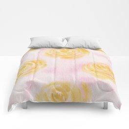 Soft Pastel Florals Comforters