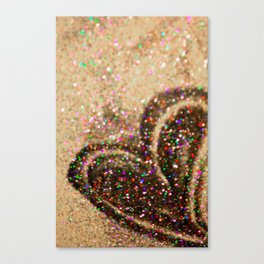 Some Hearts Get Lucky Canvas Print