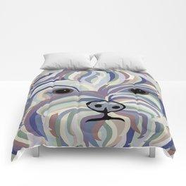 Yorkie Denim Colors Comforters