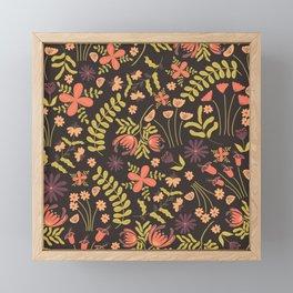 Beautiful Garden of Jen Framed Mini Art Print