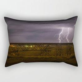 Electric Bridge Rectangular Pillow