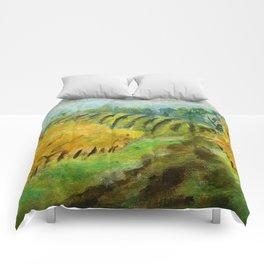 Oregon Vineyard  Comforters