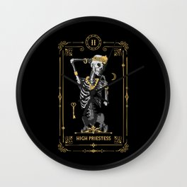 High Priestess II Tarot Card Wall Clock