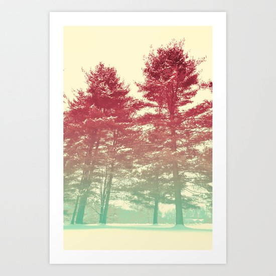 Winter's Voice Art Print