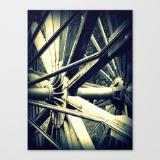 Tailing Wheels II Canvas Print