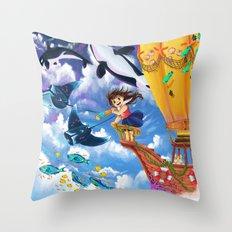 The Sea Wanderer Throw Pillow