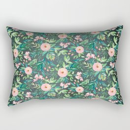 The Night Meadow Pattern Rectangular Pillow