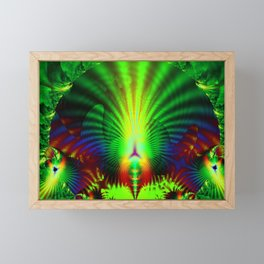 Rainbow Birds Framed Mini Art Print