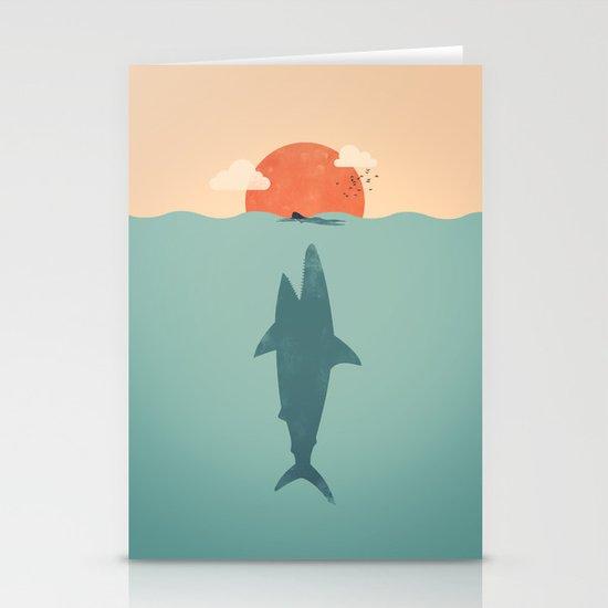 Shark Attack  Stationery Cards