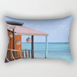 Grand Turk Bungalow Rectangular Pillow
