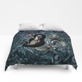 Electric Mermaid Comforters