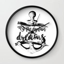 Be the captain Wall Clock