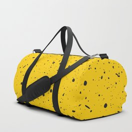 Speckled Yellow Duffle Bag