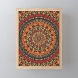Mandala 563 Framed Mini Art Print