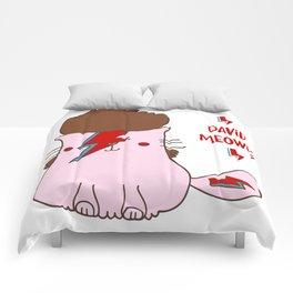 David Meooooowie Comforters
