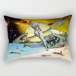 Cat Island Rectangular Pillow