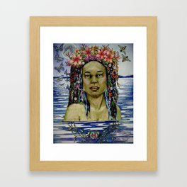 Yemaya, Goddess of the Sea Framed Art Print