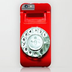 OLD PHONE - RED EDITION - for iphone Slim Case iPhone 6