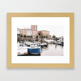 Hamburg Framed Art Print