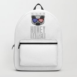 American Honey Badger Backpack